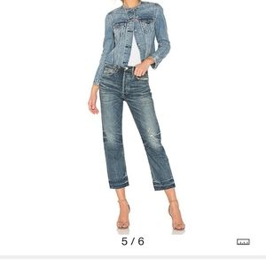 Citizens  of humanity Gia crop straight leg jeans